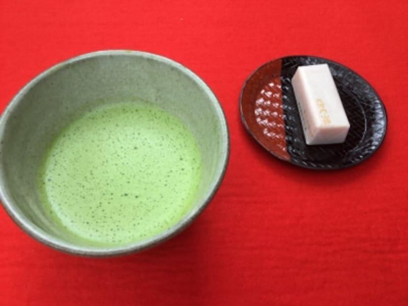 抹茶(大河内山荘)