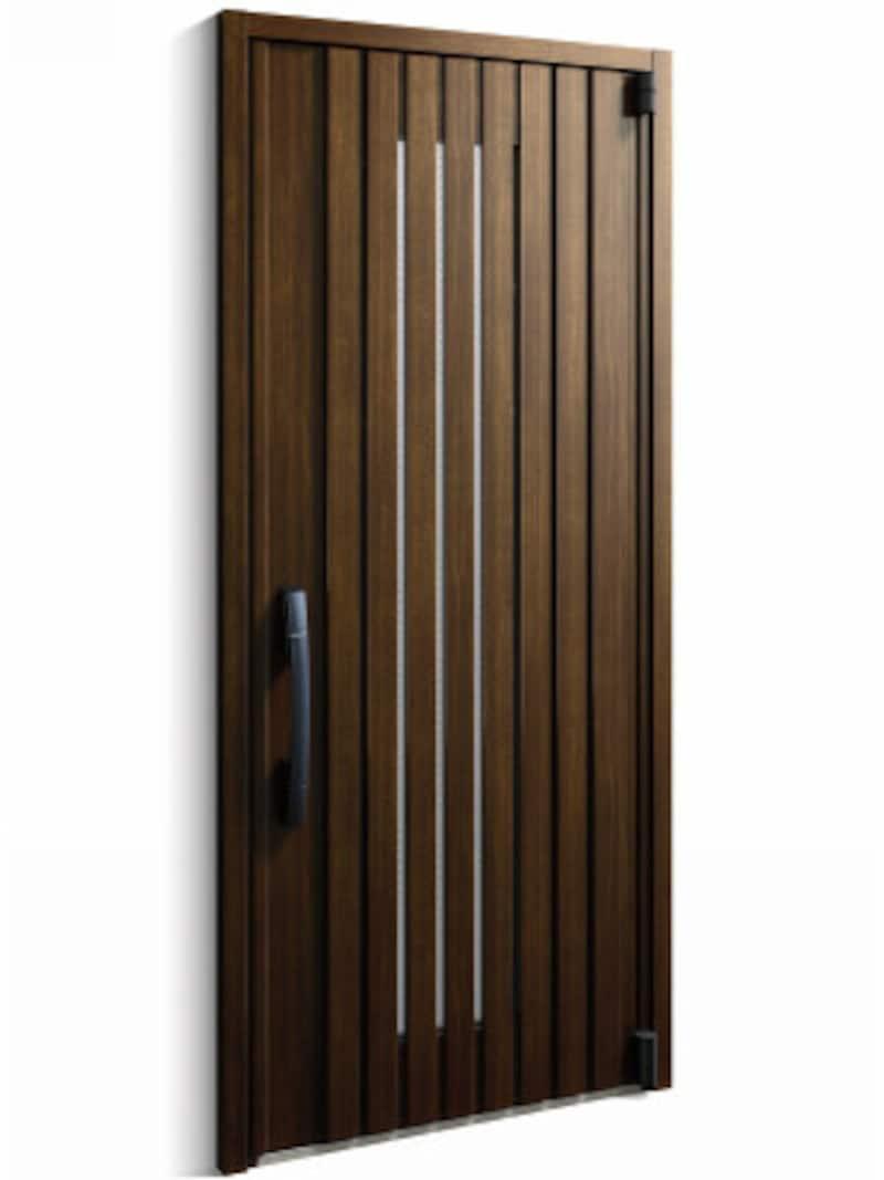 高い断熱性能と優れた防火性能をプラスした玄関扉。炎の侵入を防ぐトリプルガラス(網入型)を採用。[InnoBestD50防火ドア(104デザイン)] YKKAPhttp://www.ykkap.co.jp