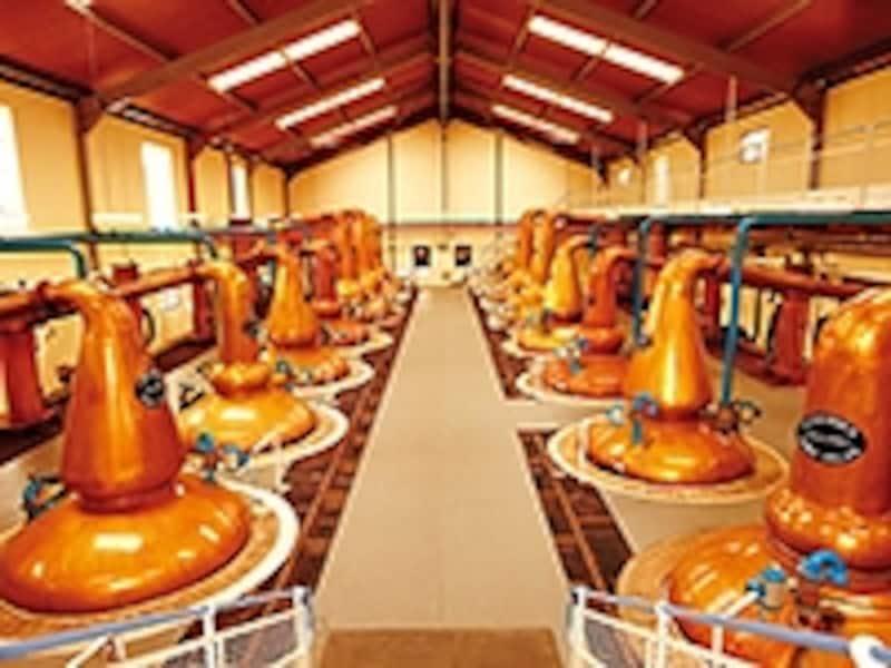 グレンフィディックの蒸溜室