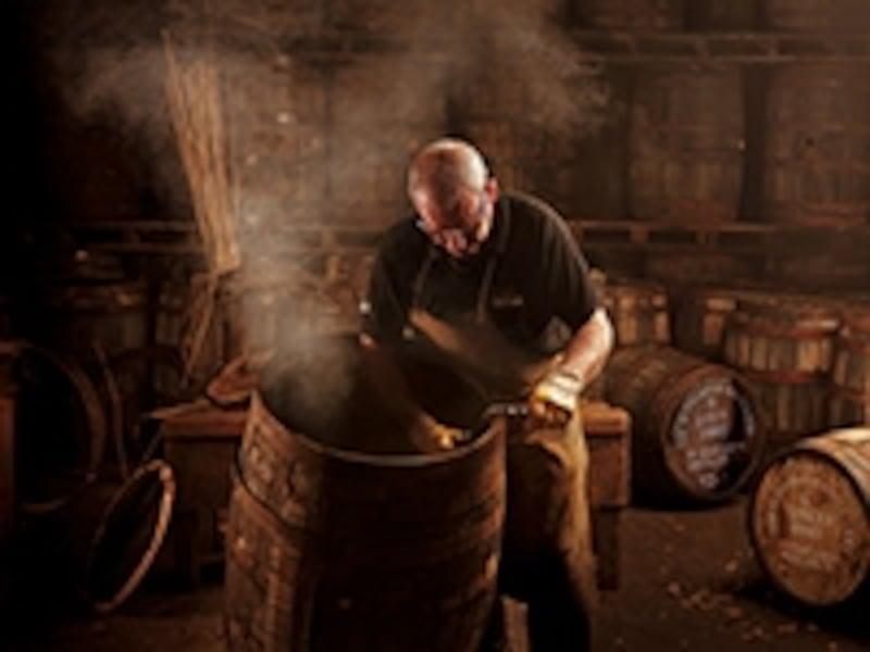 グレンフィディック製樽職人