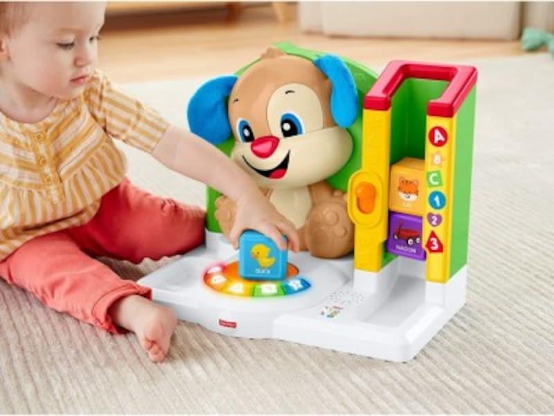 赤ちゃんに人気クリスマスプレゼント2018!0歳児向けおもちゃ第5位『フィッシャープライスバイリンガル・ファーストワード・わんわんステーションFRV55』