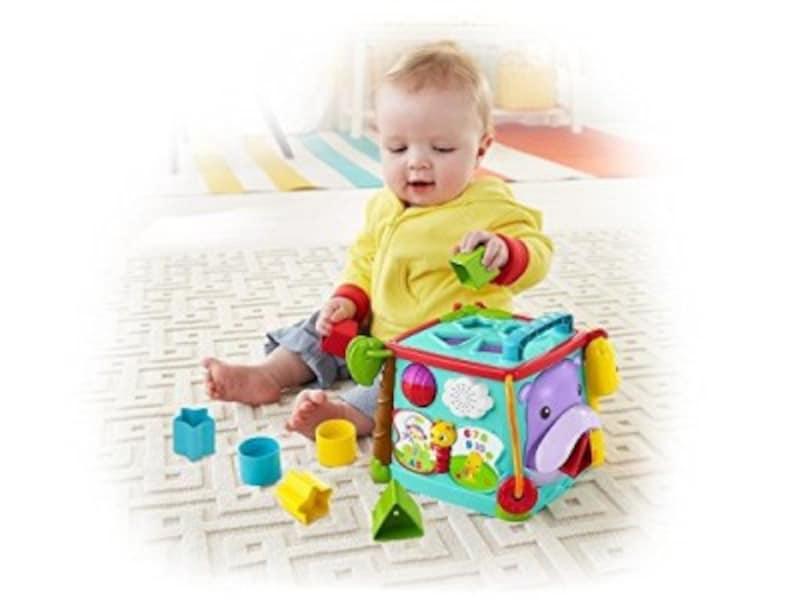赤ちゃんに人気クリスマスプレゼント2018!0歳児向けおもちゃ第9位『フィッシャープライスバイリンガル・ラーニングボックスDNY97』