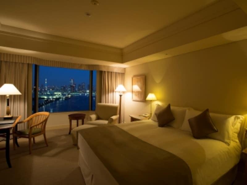 『ホテルインターコンチネンタル東京ベイ』スーペリアクラスダブルの客室