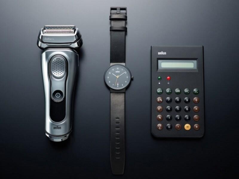 時計や電卓など、ブラウンには優れたプロダクトデザインが多くある