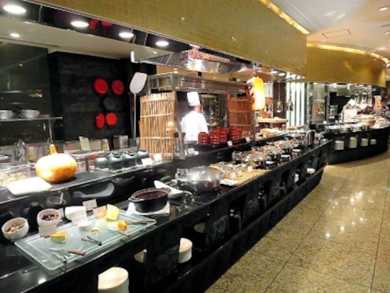 ANAインターコンチネンタルホテル東京「カスケイドカフェ」