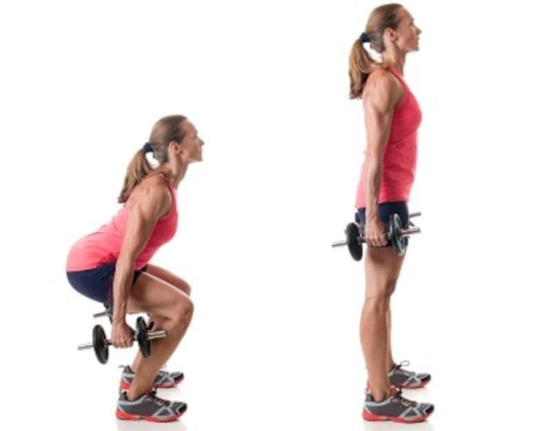 重心を踵やおしりに置いて行うと効果的