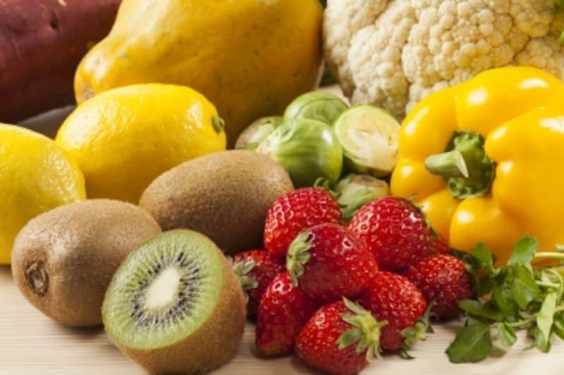 ビタミンCを多く含む食べ物