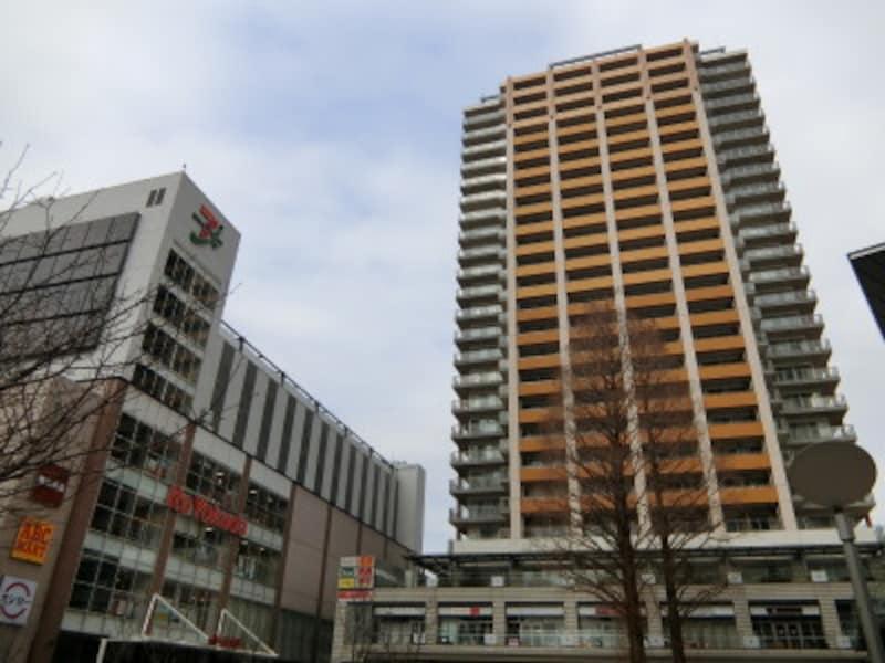 武蔵小金井駅前の「プラウドタワー武蔵小金井」(分譲済)