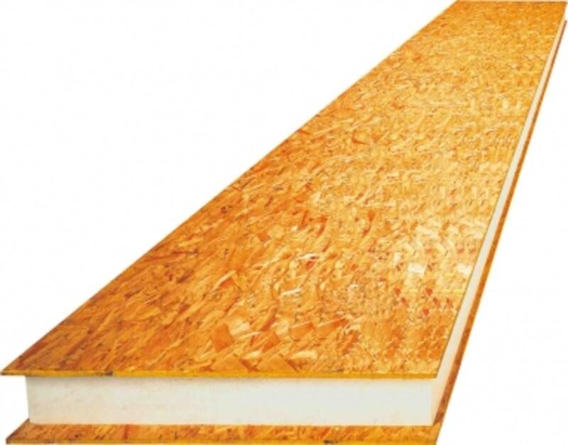 屋根断熱構造材「ダブル―シールドパネル」が、快適かつ開放的な屋根裏部屋を生み出します