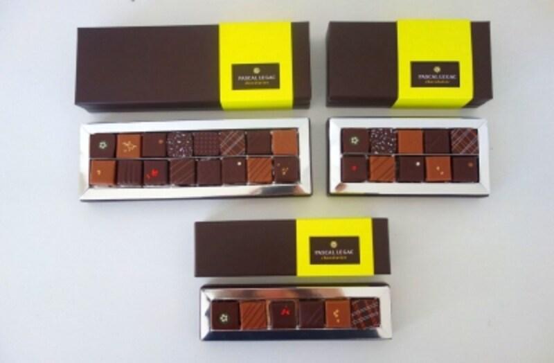 ボンボンショコラ詰め合わせは6個入、10個入、16個入があります。