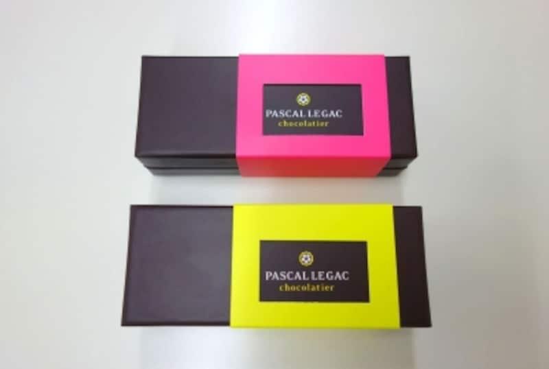 4個入りは名古屋と大阪限定販売。阪急うめだ本店限定ボックスはスリーブがピンクです。