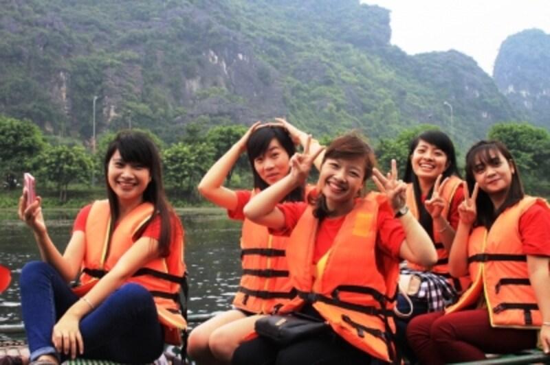 ベトナムの学生も修学旅行で訪れる