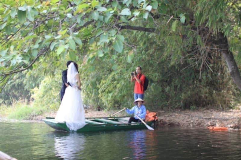 結婚式用の撮影でも人気