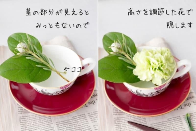 おもてなしにも使える!小さな花の飾り方