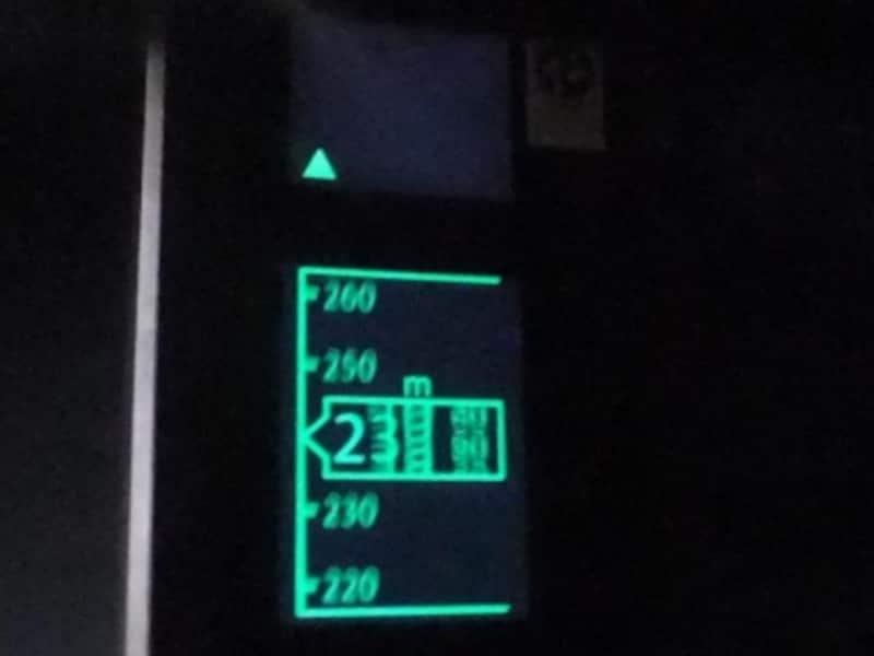 ハルカス300(3)/エレベーターの高度表示