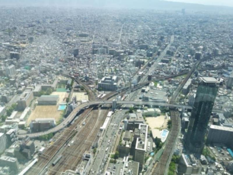 ハルカス300からの眺め(3)/東方向
