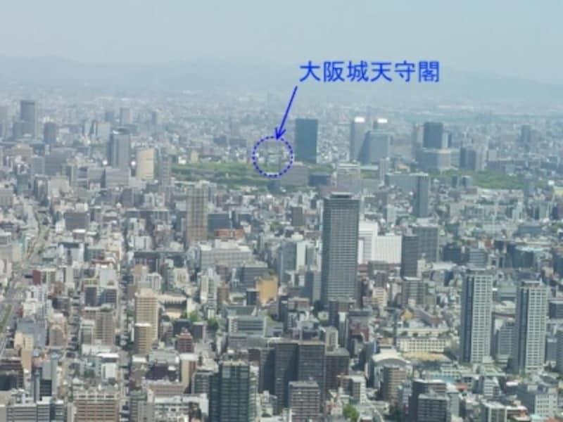 ハルカス300からの眺め(7)/北方向