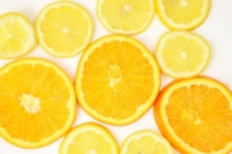 オレンジのアロマはハートにもいい