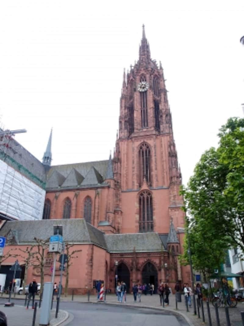 フランクフルトの観光 大聖堂(聖バルトロメウス教会)