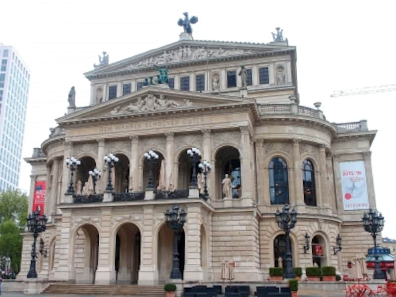 フランクフルトの観光:アルテ・オーパー(旧オペラ座)