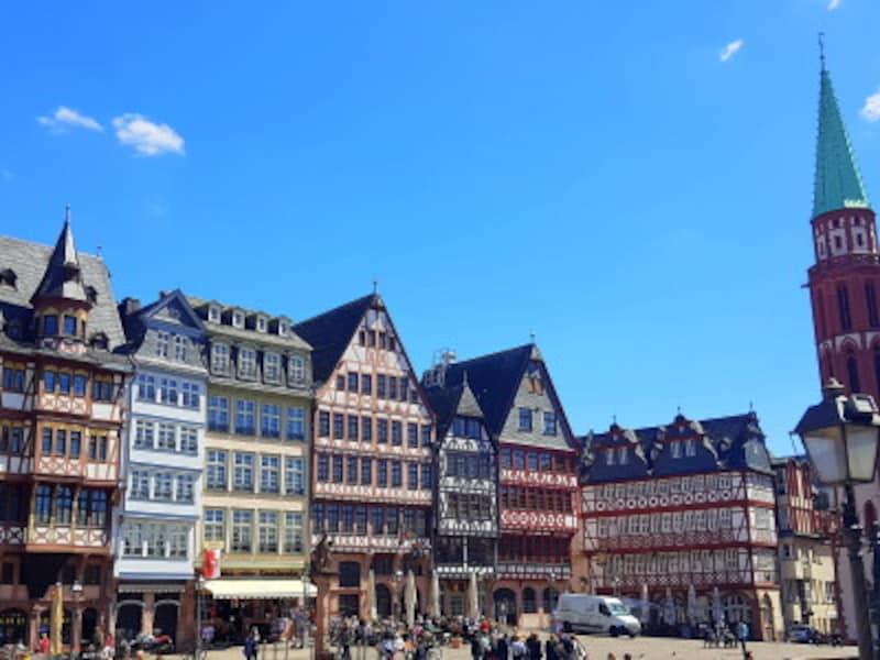 フランクフルトの観光 フランクフルトの街並み