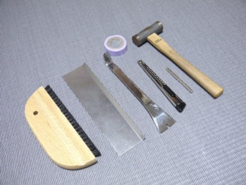 ふすまの張り替えに必要な道具