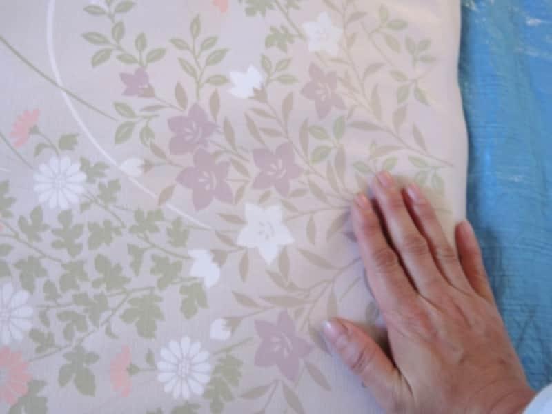 ふすま紙・再湿タイプの貼り方(本格張りのやり方)