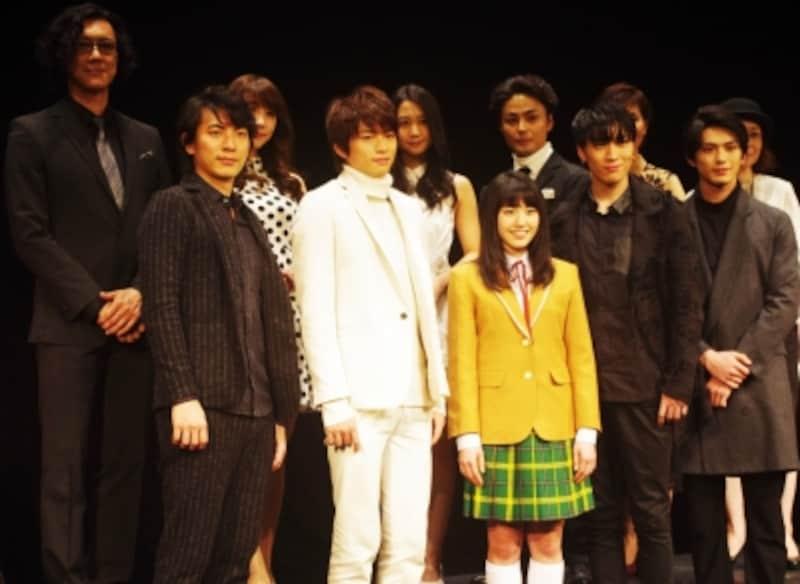 『花より男子TheMusical』制作発表記者会見にて。(C)MarinoMatsushima