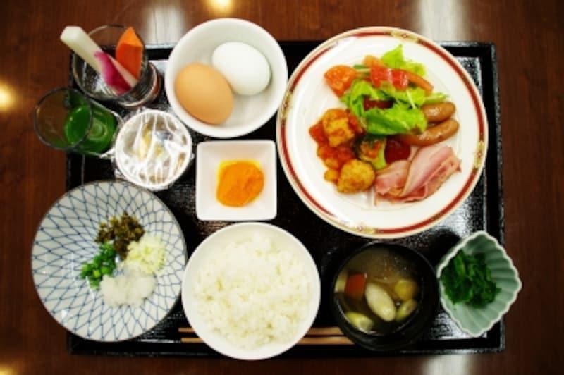 ビジホ朝食