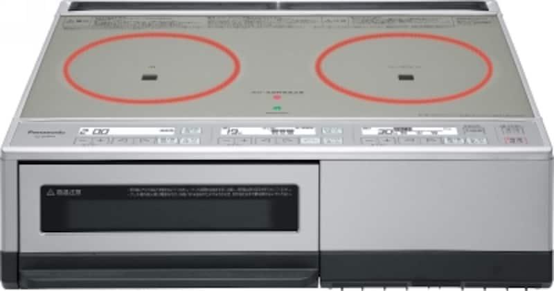 設定温度を保つことができるので、加熱しすぎずおいしく調理することができる。エコナビ搭載。 [据置タイプシングルオールメタル対応IHクッキングヒーター<KZ‐D60KM>]  パナソニックエコソリューションズ http://sumai.panasonic.jp/