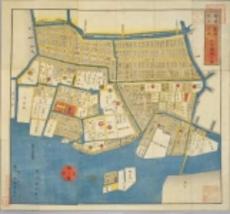 江戸時代の築地