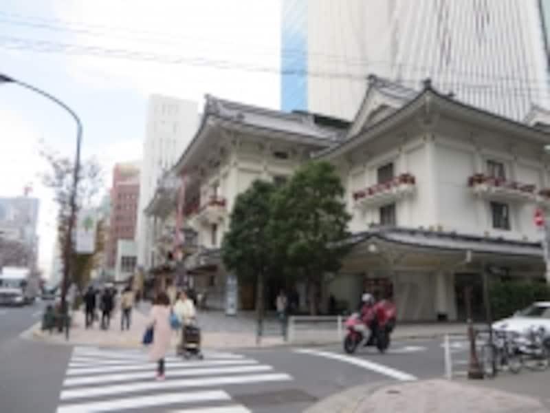 歌舞伎座の風景