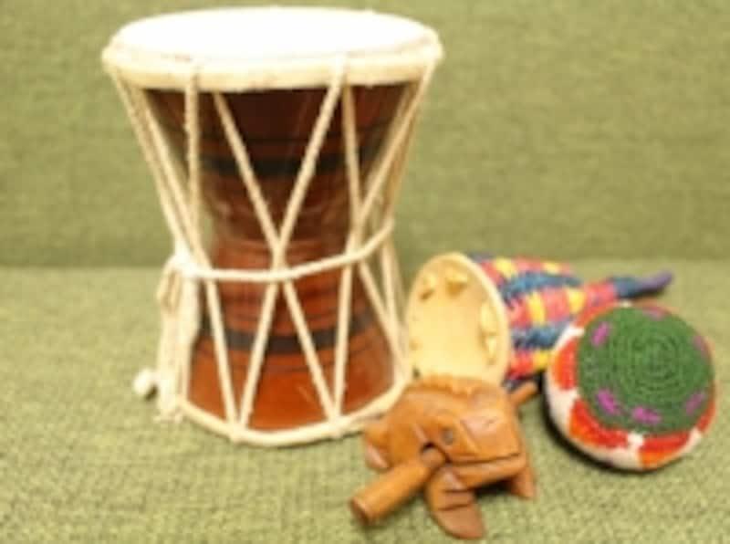 オリオン座と楽器