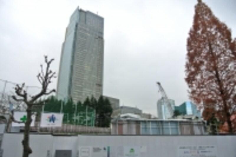 「パークコート赤坂檜町ザundefinedタワー」の建設地