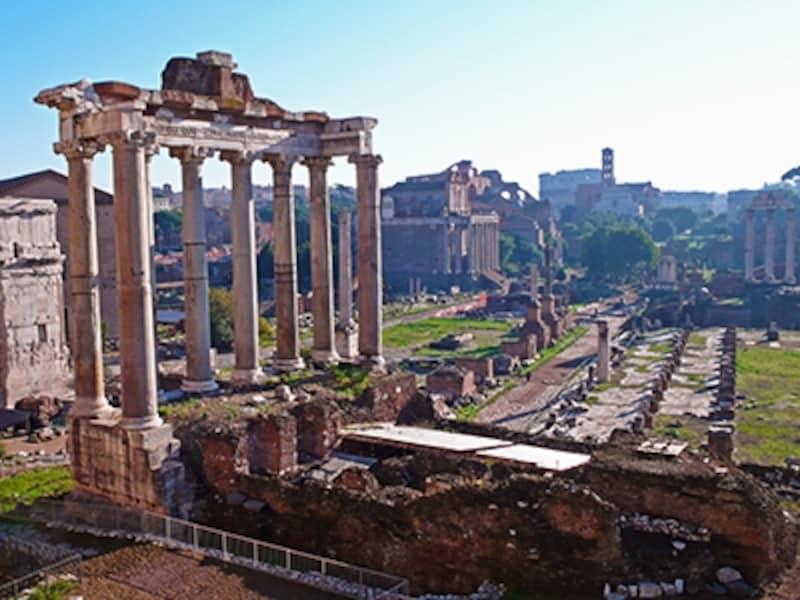 フォロ・ロマーノ、サトゥルヌス神殿