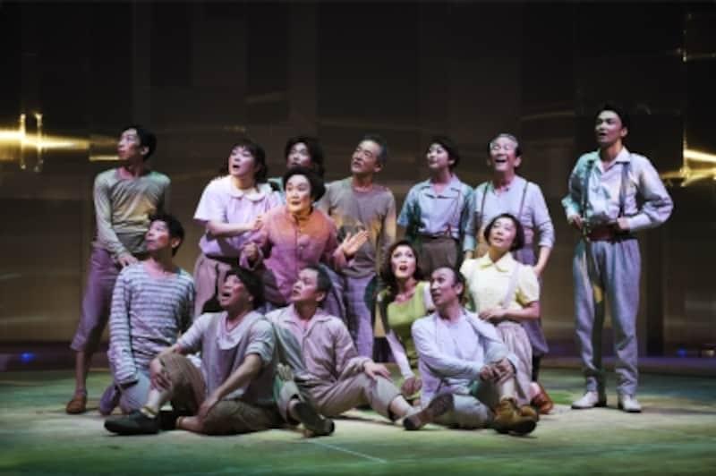 『漂流劇undefinedひょっこりひょうたん島』撮影:細野晋司