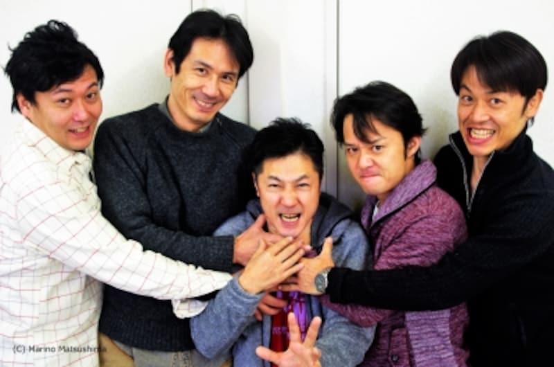 「見上げたボーイズ」集合!(C)MarinoMatsushima