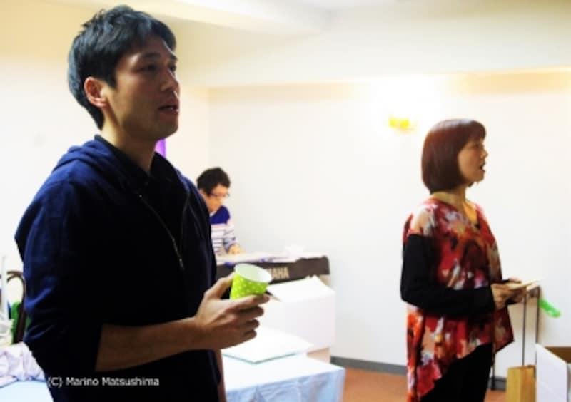 『MarryMeALittle』稽古より。(C)MarinoMatsushima