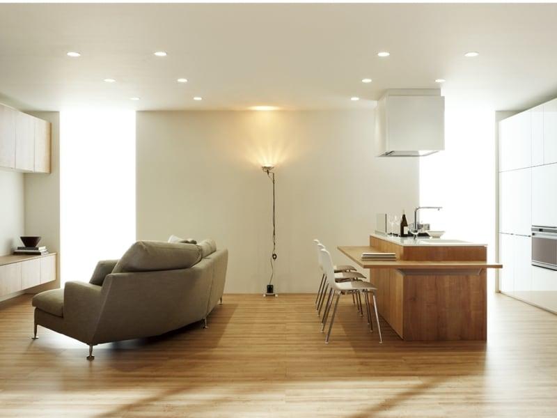 f3731e609da ナチュラルな空間に素材感を感じさせるキッチン。undefined[サンヴァリエ リシェル