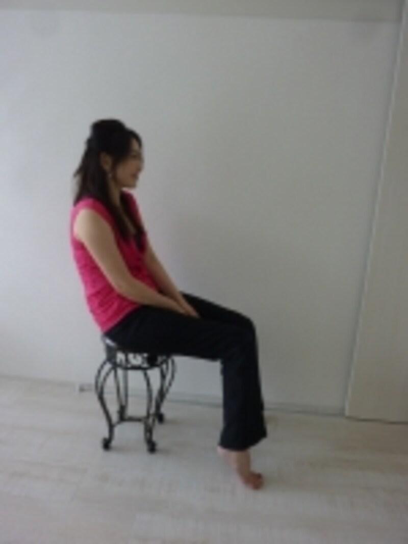 悪い座り姿勢