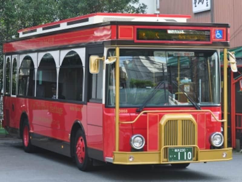 レトロ調バス『りんどう号』(京急バス)