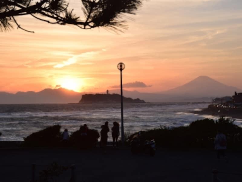 稲村ヶ崎からの眺望