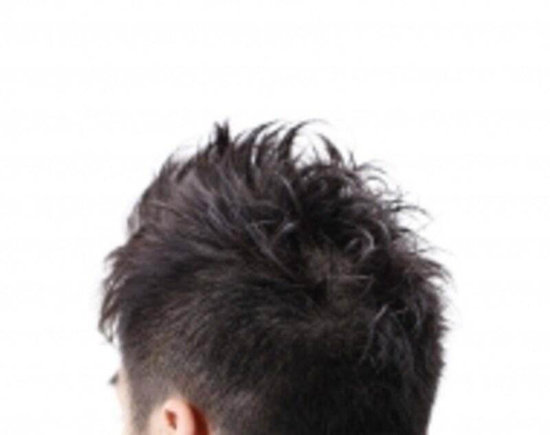 頭頂部のPH