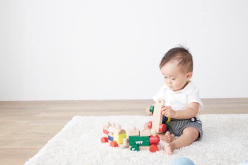 遊びをなかなかやめない2歳児