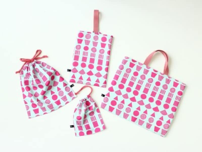 入園祝いに贈りたい手作り布小物キット