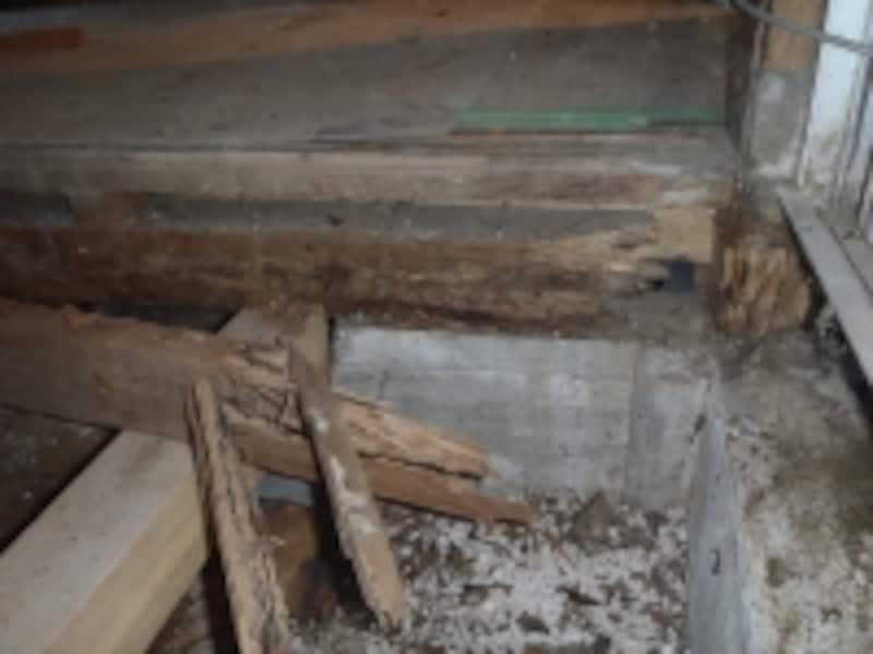 構造部の腐食