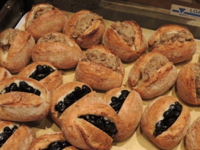丹々フランスと和栗のパン