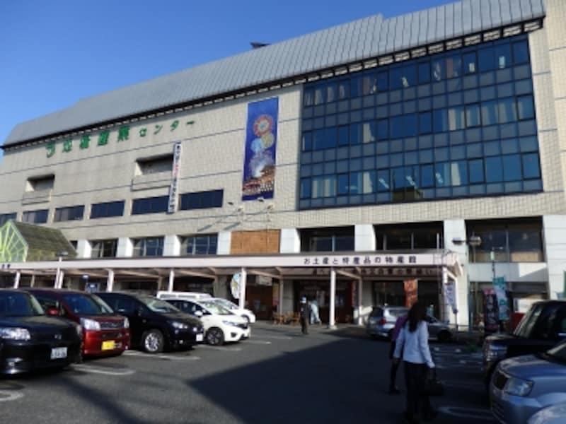 秩父鉄道の秩父駅ビルの地場産業センター