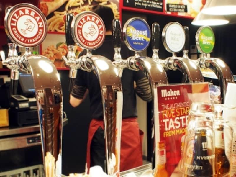 こだわりのクラフトビールは6種類。