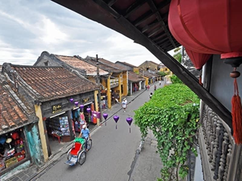 貿易陶磁博物館から眺めたチャンフー通り
